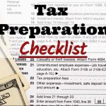Timothy A. Phillips, CPA, PC's 2017 Tax Preparation Checklist